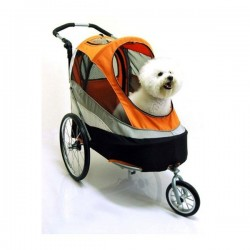Innopet Sporty dog trailer deluxe oranje