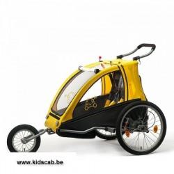 Vantly comfort fietskar met vering