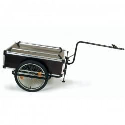 Roland Profi single towbar cargo bike trailer