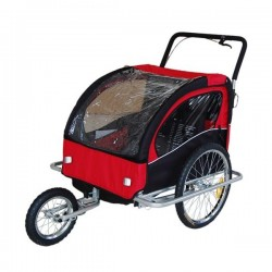 Basic jogger bike trailer