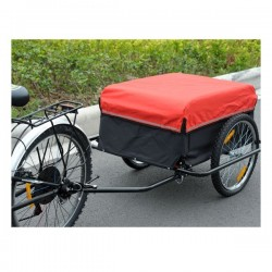 Rectangle bicycle trailer