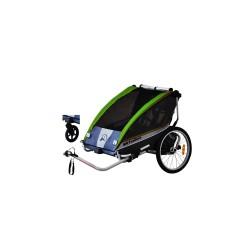 BXTrailers SE2 bike trailer groen