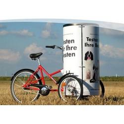 Nihola Posterbike reclame bakfiets