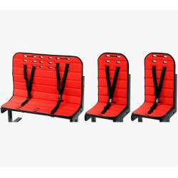 BellabBike cushion set (2 + 1 seats)