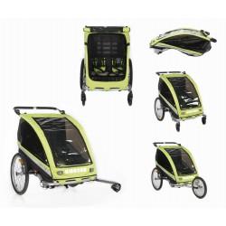 KidsCab Cares for 2 bike trailer - jogger - stroller