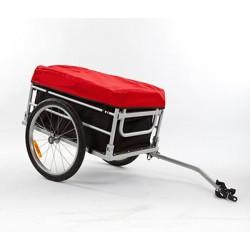 KidsCab Max aluminium cargo bike trailer
