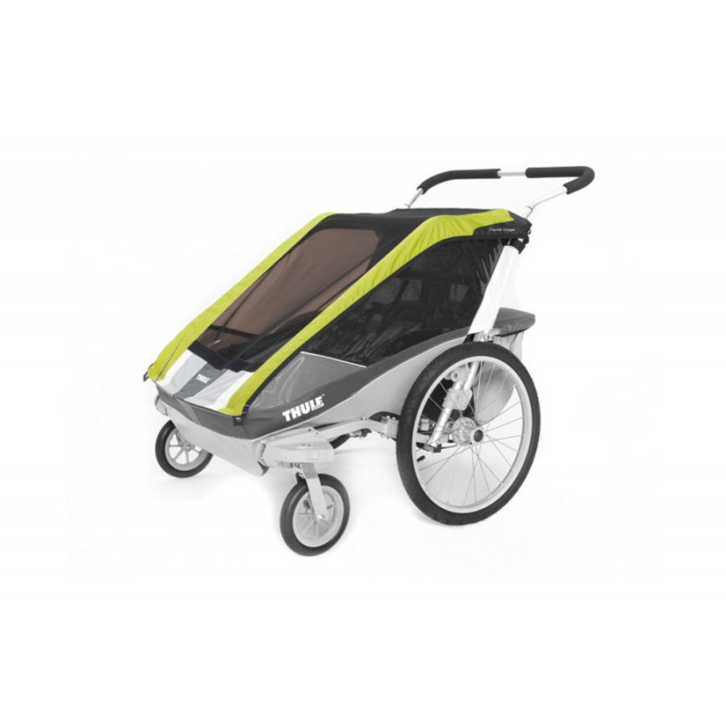 thule chariot 2in1 verdeck cougar 2. Black Bedroom Furniture Sets. Home Design Ideas