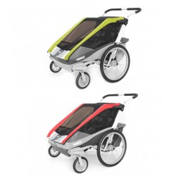 Thule Chariot 2in1 cover Cougar 2