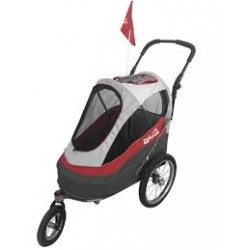 Innopet Sporty dog trailer deluxe rood
