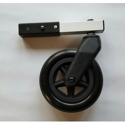 KidsCab Cares stroller wheel right