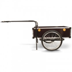 Roland Profi double towbar cargo bike trailer