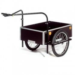 Roland Profi double towbar cargo bike trailer