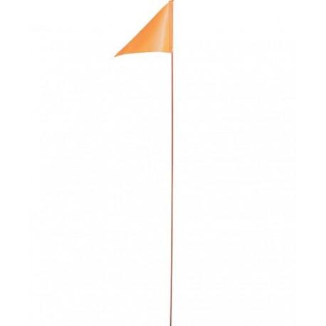 Safety flag for bike trailer