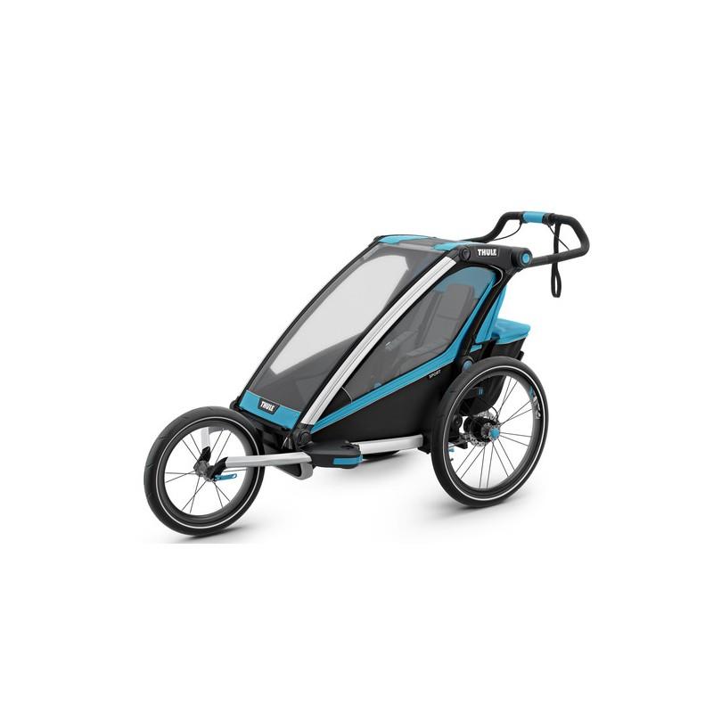 thule chariot sport 1 chartreuse kinder fahrradanh nger. Black Bedroom Furniture Sets. Home Design Ideas