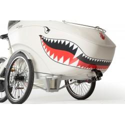 Triobike sharkmouth