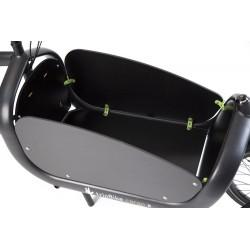 Triobike cargo zijpanelen en bodemplaat