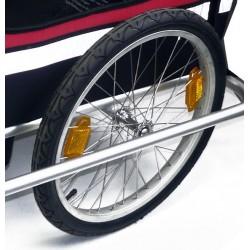 Zijwiel 20 inch voor fietskar