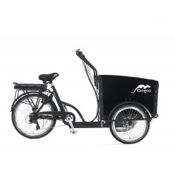 Child cargo trike Cangoo Groovy short E