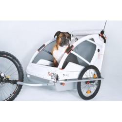 Leggero Vento dog bike trailer