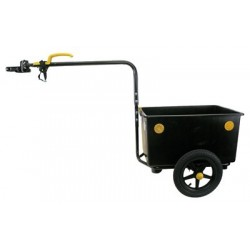 Eco max cargo bike trailer
