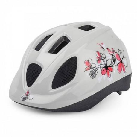 polisport fahrradhelm f r kinder flowers xs. Black Bedroom Furniture Sets. Home Design Ideas