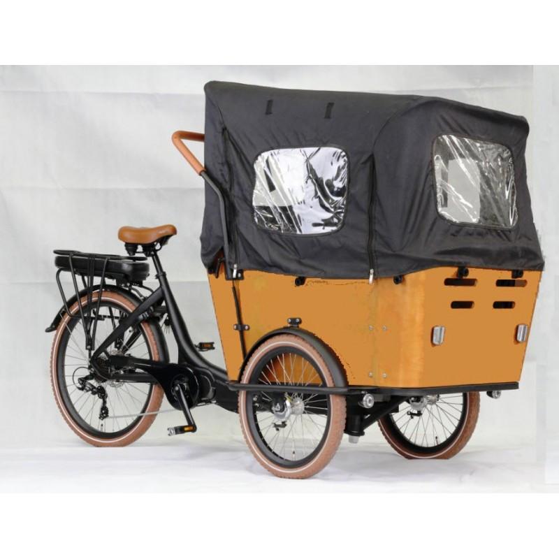 kidscab camber electric child cargo bike. Black Bedroom Furniture Sets. Home Design Ideas