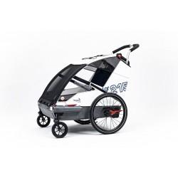 Leggero Vento R family Sail child bike trailer
