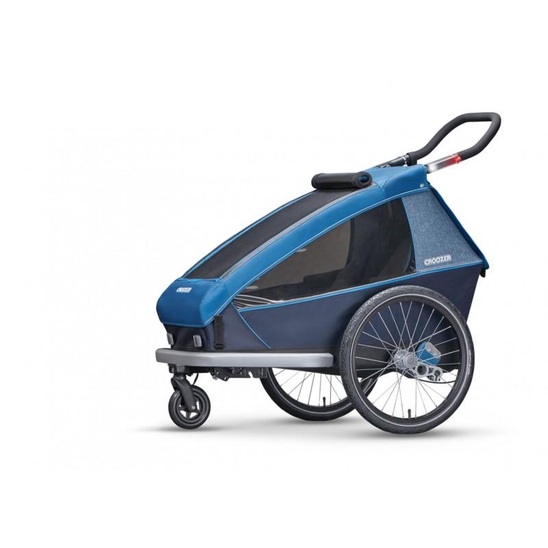 croozer kid for 2 ocean blue. Black Bedroom Furniture Sets. Home Design Ideas