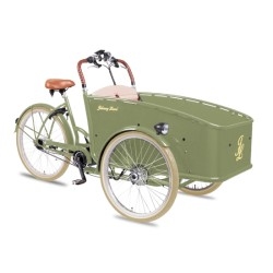 Johnny Loco E-Bike Cargo Lima child transport trike