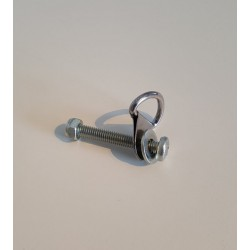Bout met D-ring voor veiligheidsriem koppeling