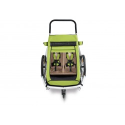Croozer kid for sun cover Meadow green