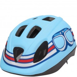 Bobike Pilot S blue child bike helmet