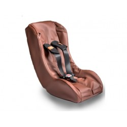 Toddler Seat Comfort Brown Leather (7 Months+)