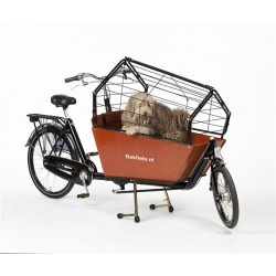 Bakfiets.nl Cargobike long dog cage