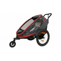 Hamax outback 1 Red/Black bike trailer