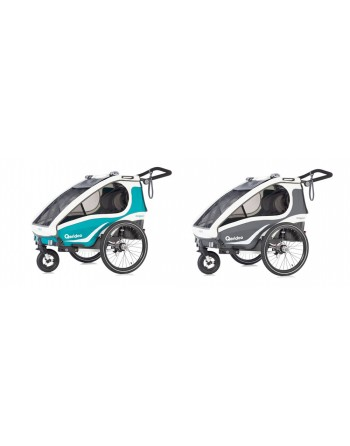 Qeridoo KidGoo 2 bike trailer