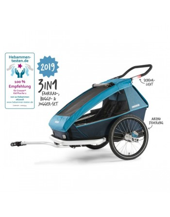 Croozer kid for 2 plus...