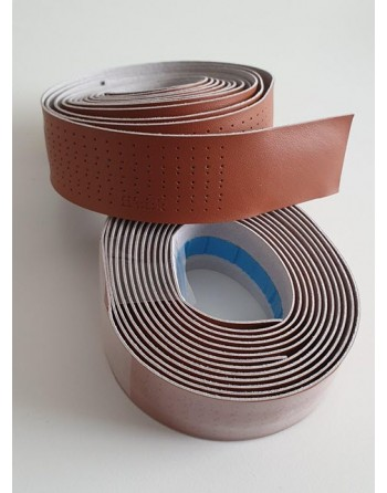 Bakfiets handlebar tape brown