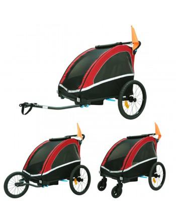 KidsCab Vector fietskar met...