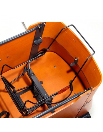 Bakfiets maxi cosi houder
