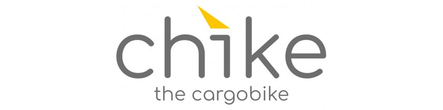Chike is a modular tilting child cargo bike.